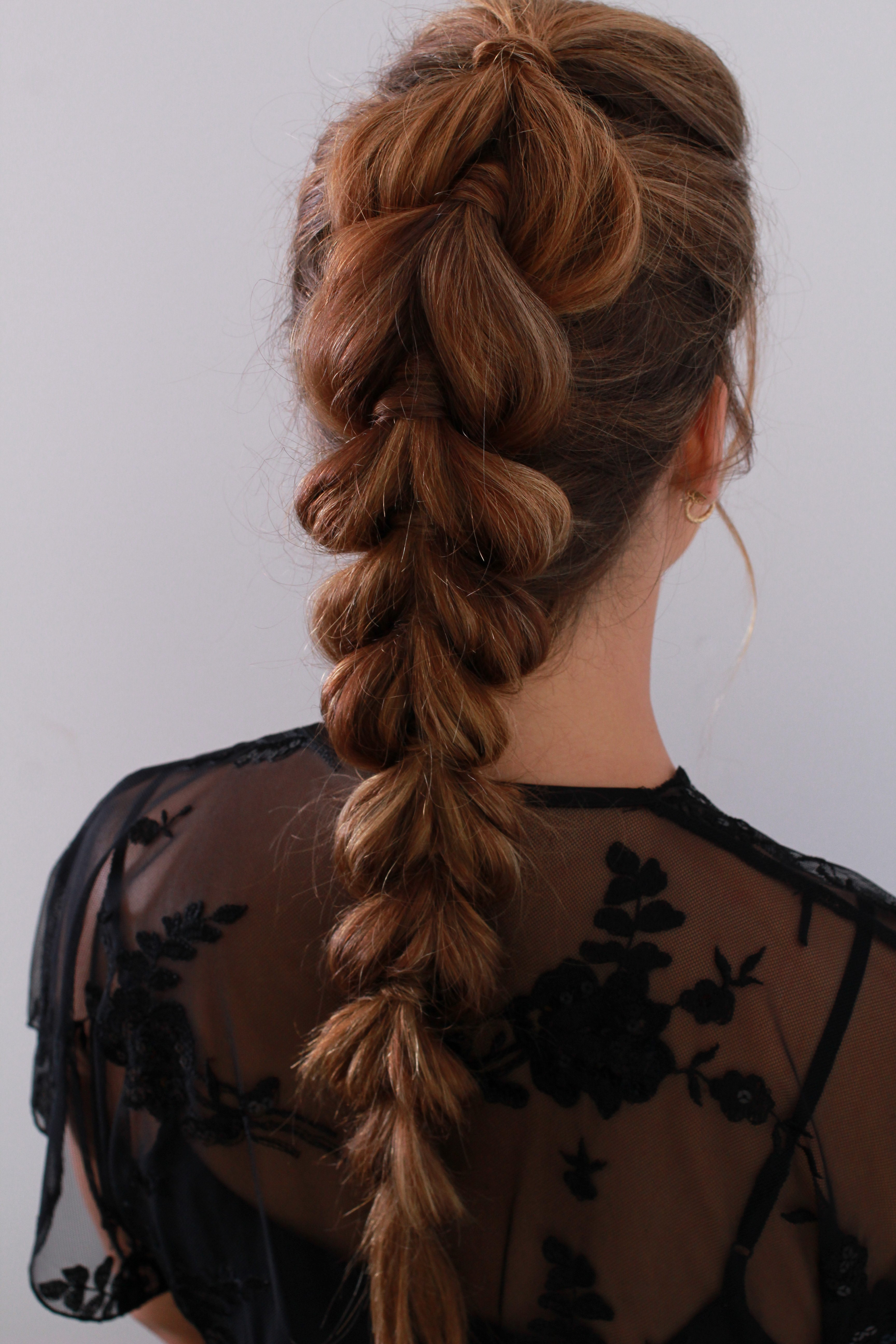 Funky Braided Updo Luminous By Danielle